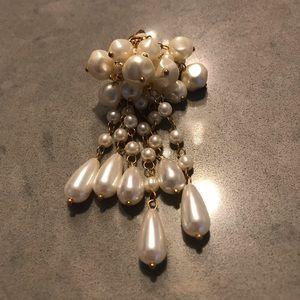 ✨Handmade pearl earclips✨